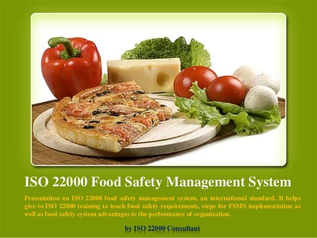 Iso 22016 Food Safety Management System Manual