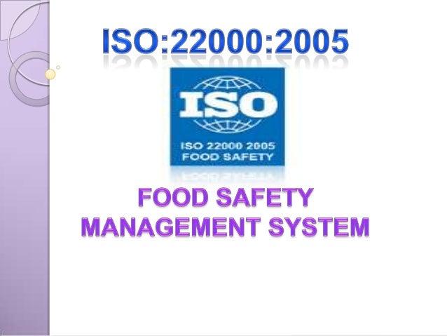 international standard iso 22000 fsms 2005 pdf