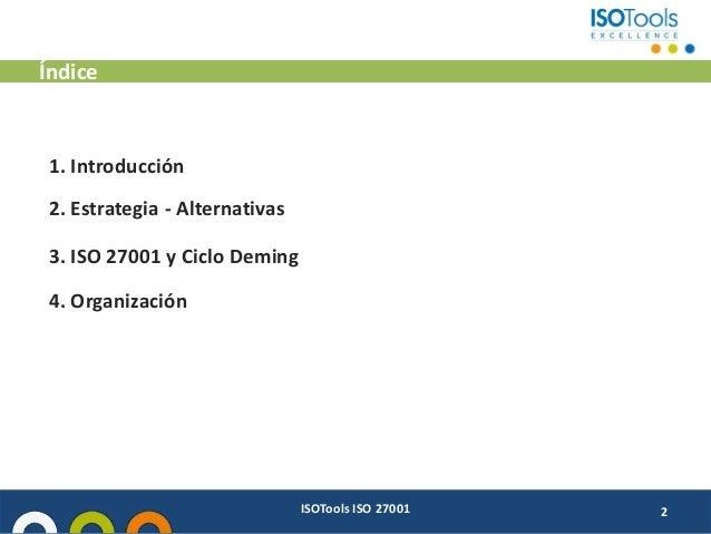 Vídeo - Buenas prácticas ISO 27001 Slide 2