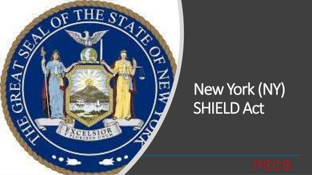 """OverviewofData Protection/Privacy inNYSHIELDAct • """"Stop Hacks and Improve Electronic Data Security Act (SHIELD Act)"""" • The..."""