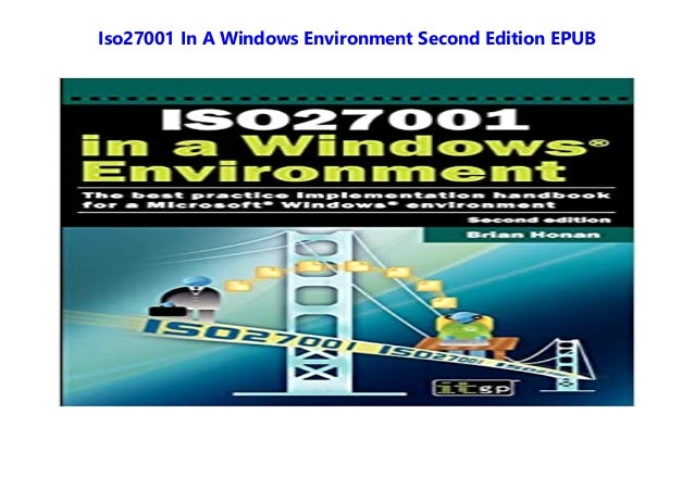 Iso27001 In A Windows Environment Second Edition EPUB