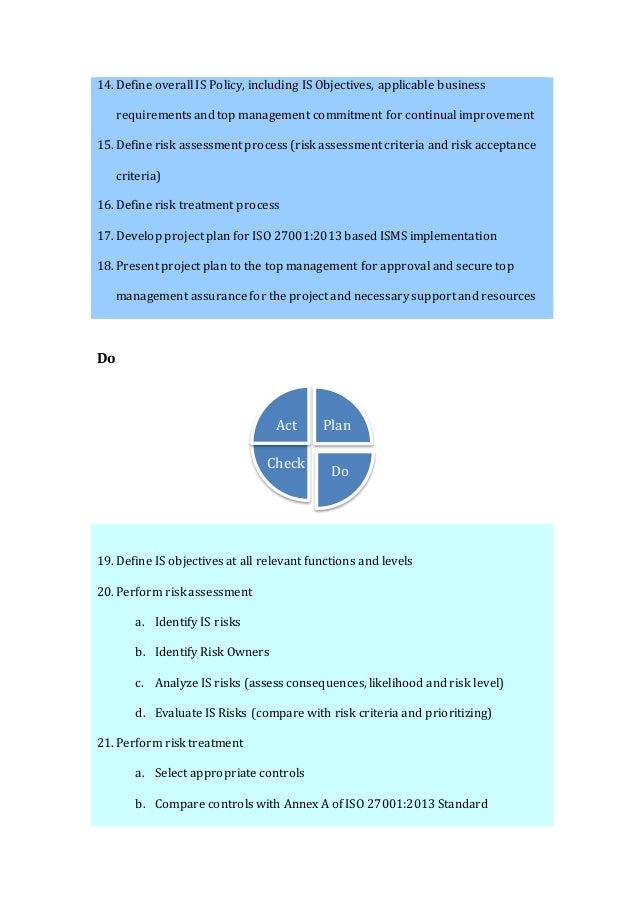 ISO 27001:2013 Implementation procedure Slide 2