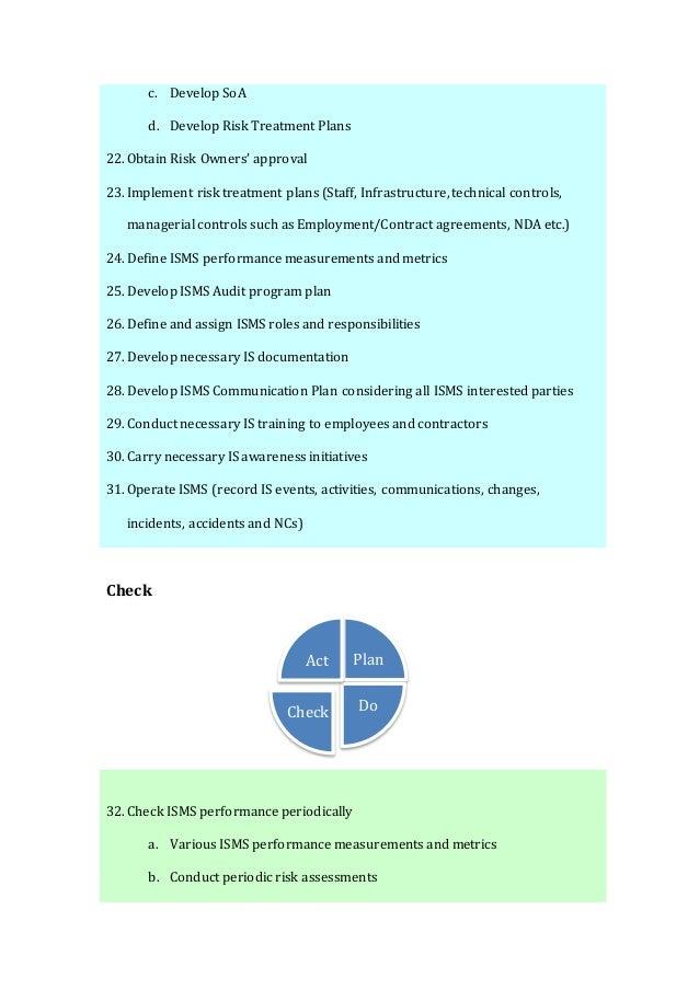 ISO 27001:2013 Implementation procedure Slide 3