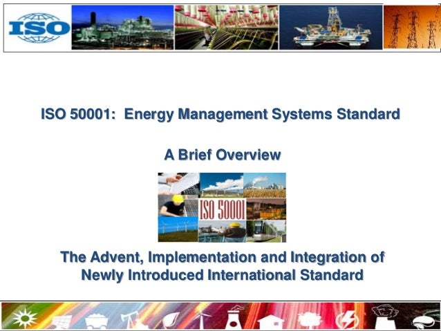 Energy Management System ISO 50001