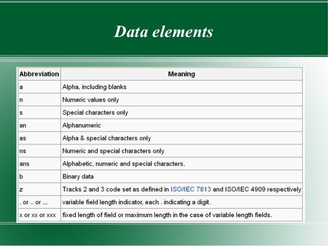 iso 8583 bitmap online dating