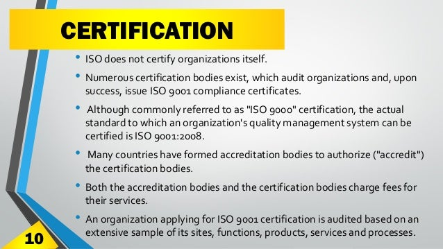 how to get iso 9000 certification