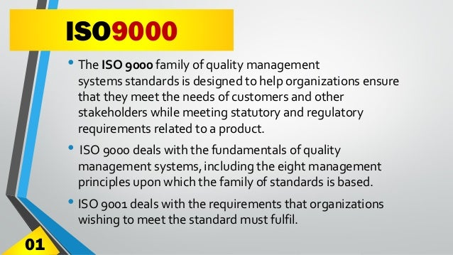 ISO 9000 Quality Management System - A Presentation by Akshay Anand