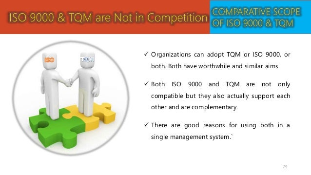total quality management and relationship marketing