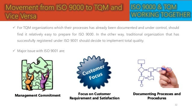 total quality management and iso 9000 certification