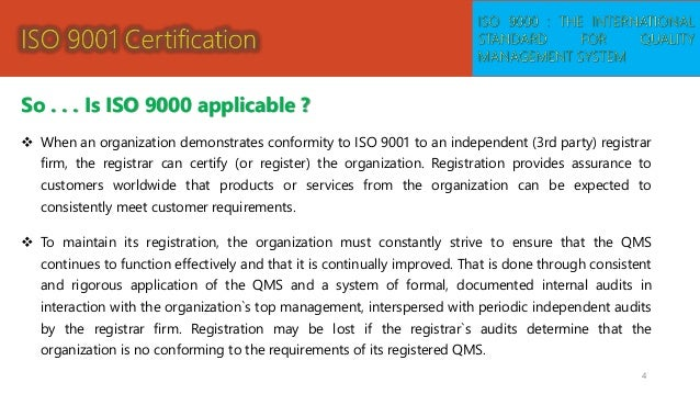 total quality management and iso essay Total quality management (tqm) - essay example companies also adhere to the key principles of total quality management bem framework, and iso 9000.