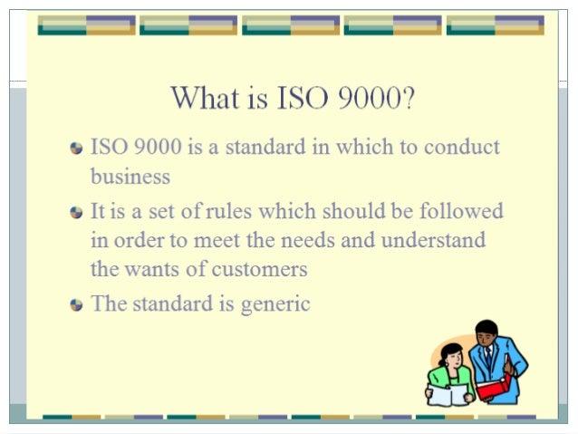 ISO 9000 STANDARDS FOR HOSPITALS Slide 2