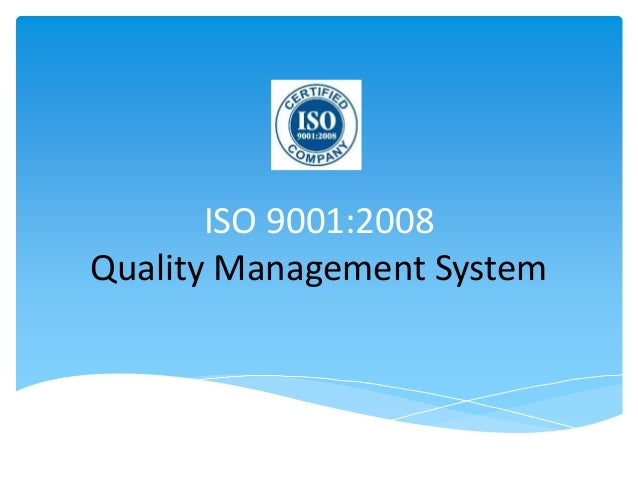 iso 9001 quality management system Regulators are increasingly realizing the benefit of recognizing the quality  management system standard iso 13485 - medical devices - quality  management.