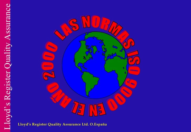 Lloyd's Register Quality Assurance Ltd. O.España
