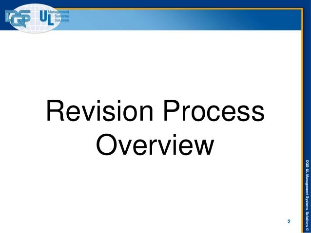 ISO 9001-2015 Revision Training Presentation Slide 2