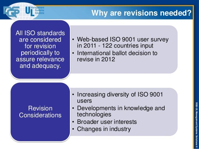 ISO 9001-2015 Revision Training Presentation Slide 3