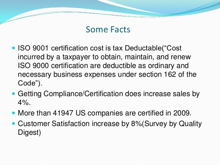 ISO 9001 Certification & Compliance