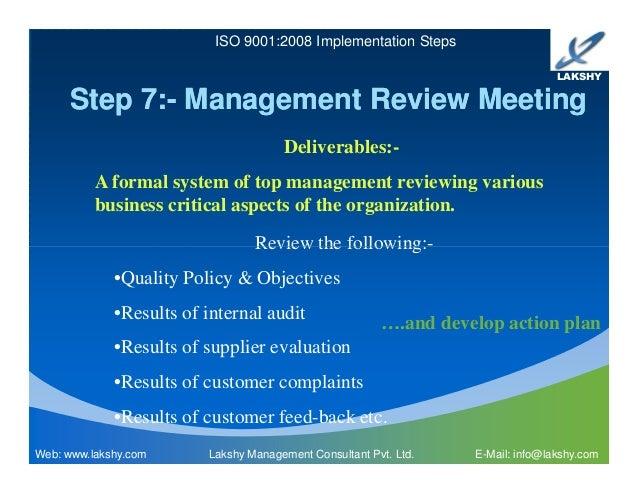 iso 9001 implementation plan pdf