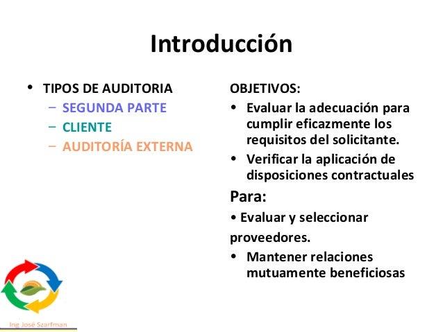 1 Alcance • Este documento brinda orientación sobre sistemas de gestión de auditoría, incluidos los principios de auditorí...