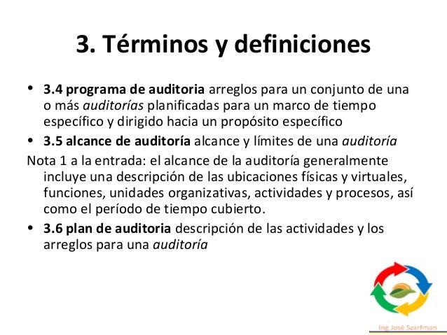 3. Términos y definiciones 3.19 riesgo efecto de incertidumbre Nota 1 a la entrada: Un efecto es una desviación de lo espe...
