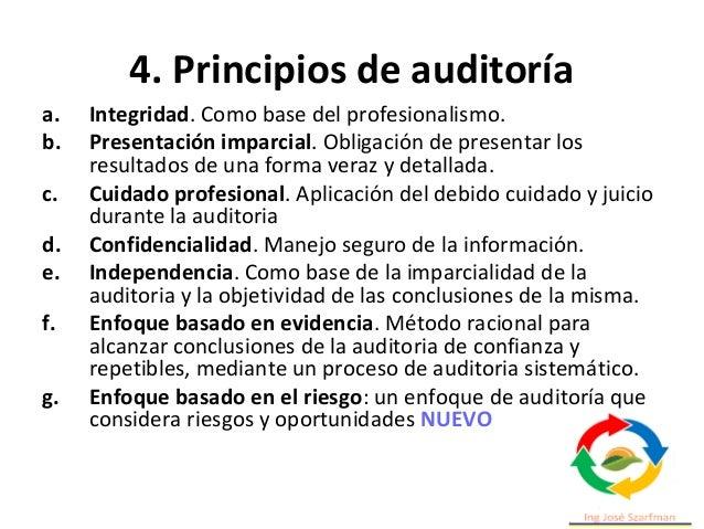 5. Administrar un programa de auditoria • 5.1 Generalidades. • 5.2 Establecimiento de los objetivos del programa de audito...