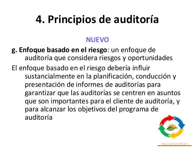 5. Administrar un programa de auditoria Una organización que precise de realizar auditorías deberá definir un programa de ...