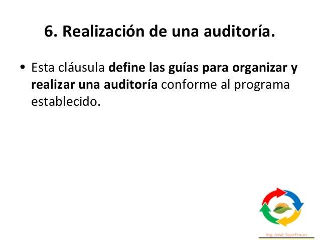 6. Realización de una auditoría. • 6.3.2 Planificación de la auditoría. • 6.3.2.1 Enfoque basado en el riesgo para la plan...
