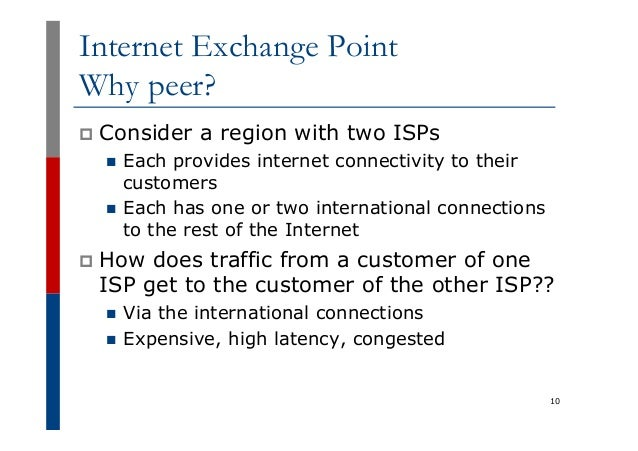 Internet Exchange Points, by Philip Smith [APNIC 38 / ISOC-AU]
