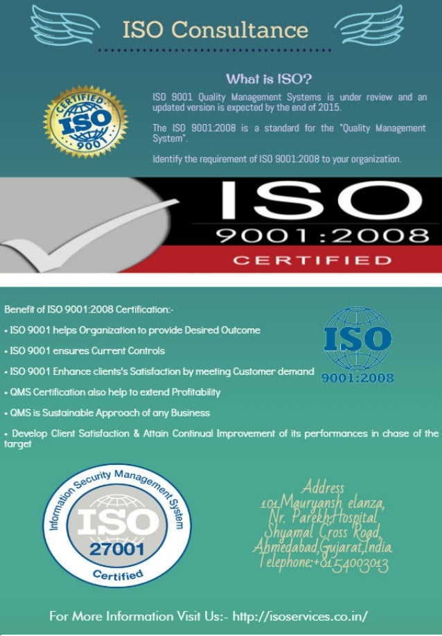 Iso Certification Cost Weighing The Equilibrium Between Expected An