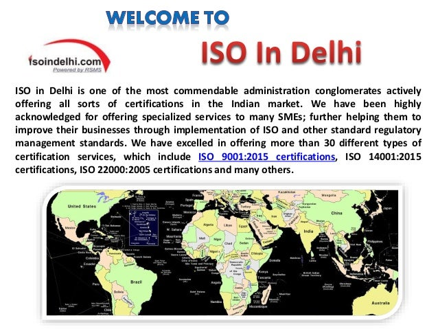 Iso Certification in Gurgaon