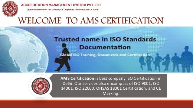 Iso certification service in delhi