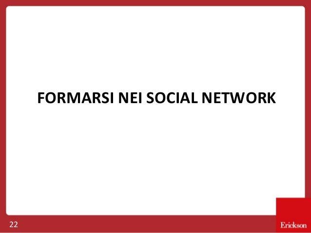 FORMARSI NEI SOCIAL NETWORK  22
