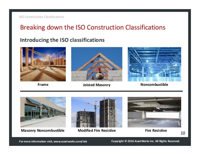 Assetworks iso construction classifications quick guide for Insurance construction types