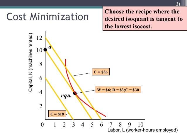 ISOQUANTS AND ISOCOSTS PDF