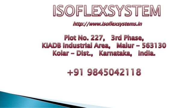 http://www.isoflexsystems.in/cold-room-panels-doors.php which are very proposed for Cold Chain Applications and additional...