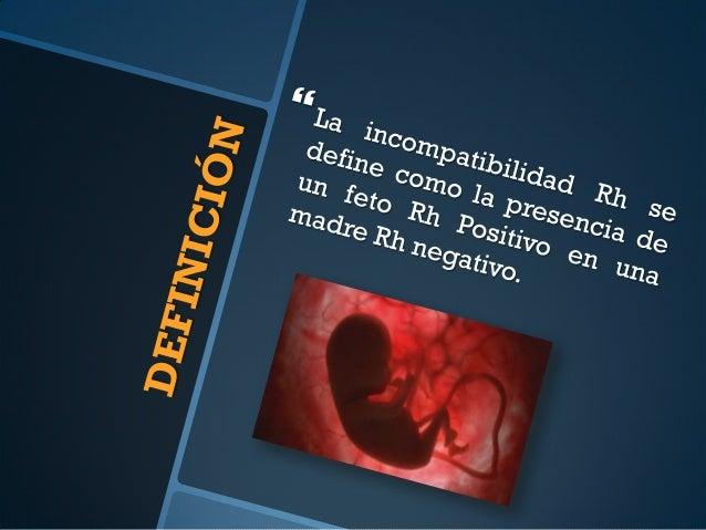 Isoinmunización Slide 2