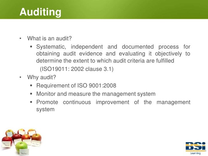 Iso Internal Auditor