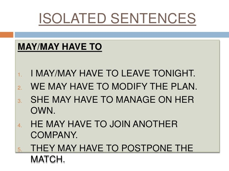 br     15. Isolated sentences