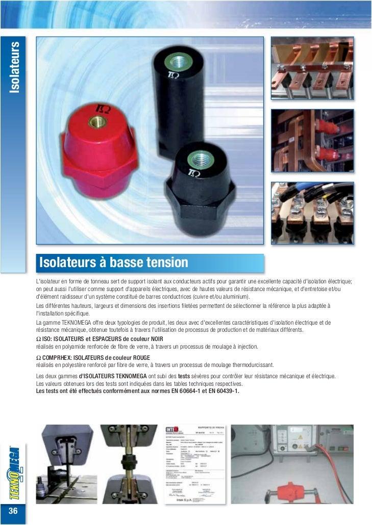 Isolateurs              Isolateurs à basse tension             Lisolateur en forme de tonneau sert de support isolant aux ...