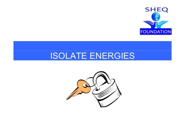 ISOLATE ENERGIES
