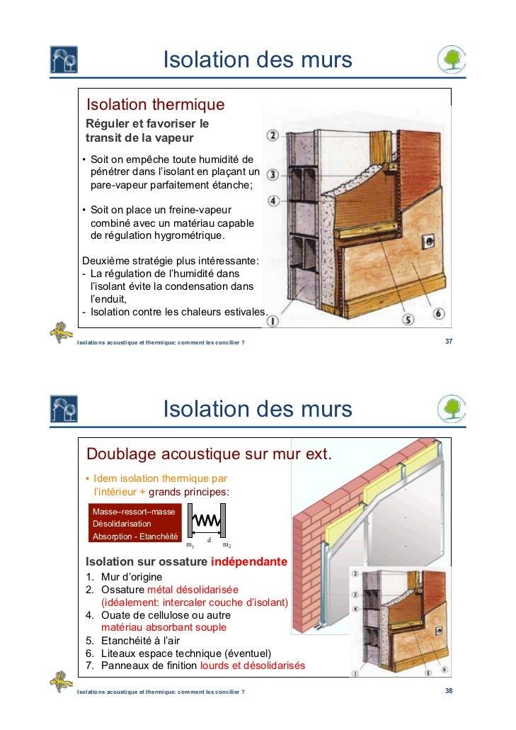 isolations acoustique et thermique comment les concilier 20oct2010. Black Bedroom Furniture Sets. Home Design Ideas