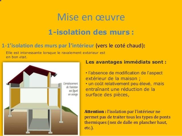 Type D Isolation Maison Interesting Plan Chantier Maison Passive