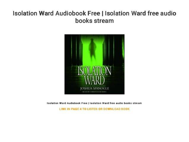 Isolation Ward Audiobook Free | Isolation Ward free audio