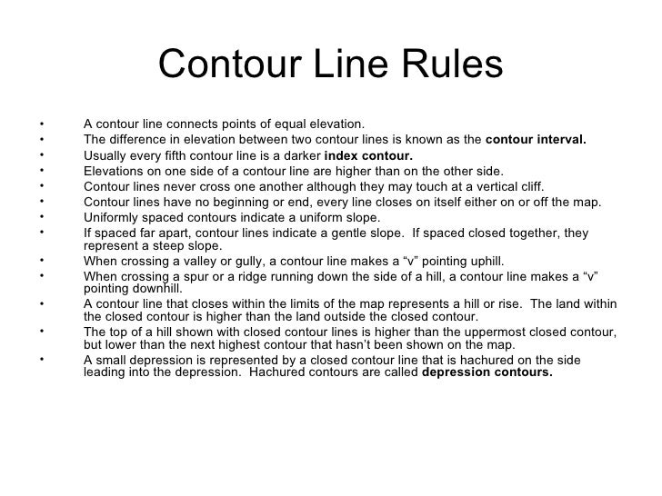 Index Contour Definition