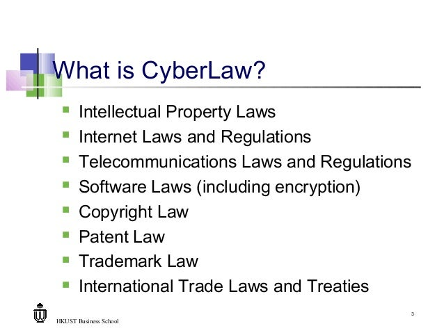 Relationship Between Internet Law And Intellectual Property