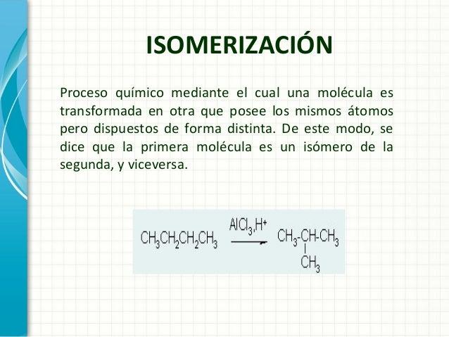 Isomerizacion for Que significa molecula