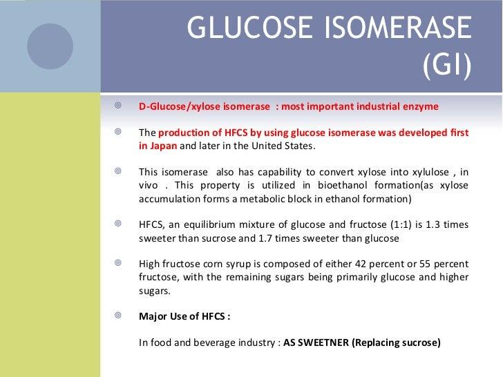 Isomerization And Dextrinization 728 Cb Glucose Equilibrium