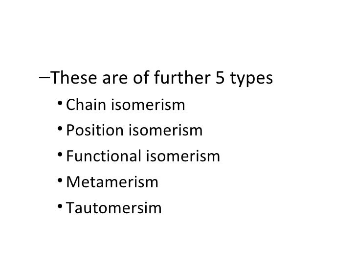 Isomers And Isomerism
