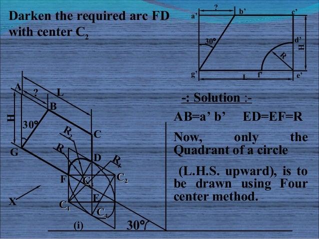 ?                                                      b'            c'Darken the required arc FD                 a'with c...