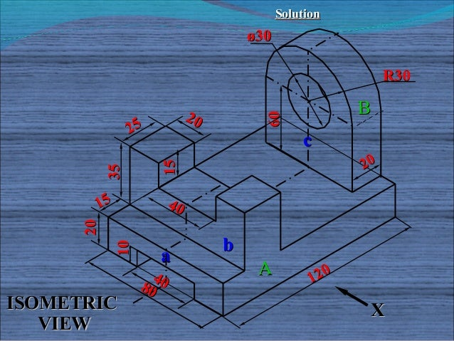 Isometric projections for engineering students