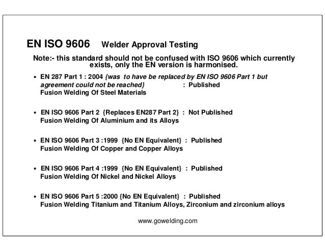 Iso new standards